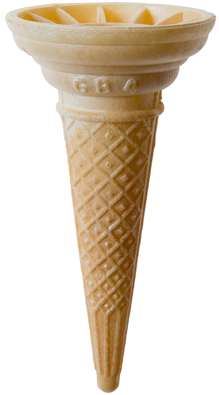 GB4 Large Wafer Cone