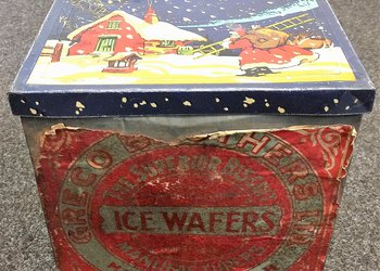 Very Old Greco Brothers Wafer Tin
